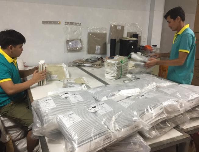 Xưởng sản xuất túi vải không dệt